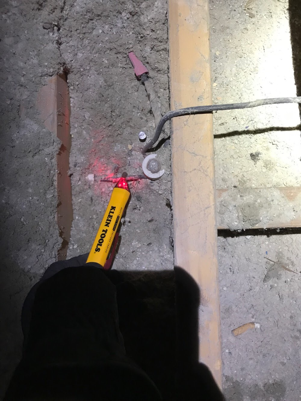 live knob and tube wiring in old boise home attic